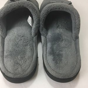 isotoner Shoes - Isotoner Grey Slippers Size 9.5-10